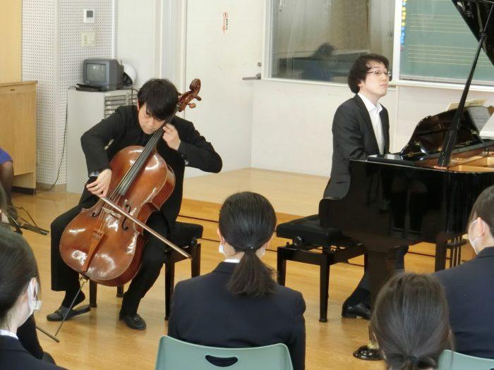 3/11 (木)目黒区「トキワ松学園」でコンサートを開催しました-NPO法人 子どもに音楽を